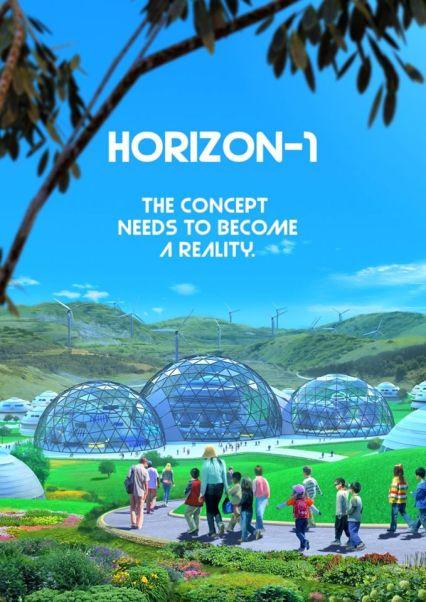 Horizon 1 - comunidade high tech sustentável do mundo
